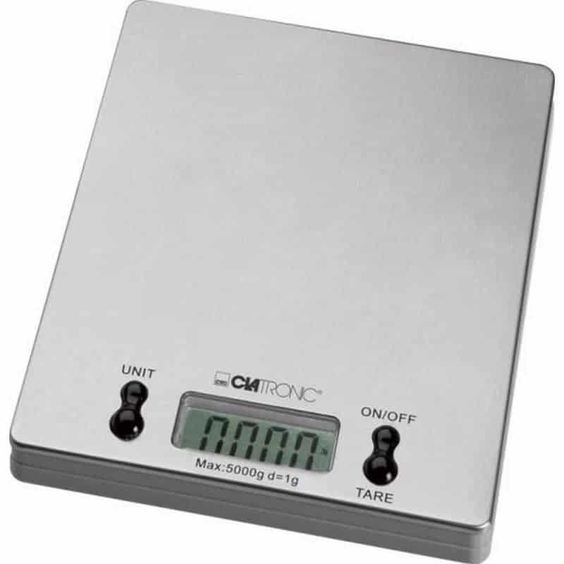 Balance inox numérique extra plate - 1gr à 5kg. Précison +/-2gr. ProCouteaux
