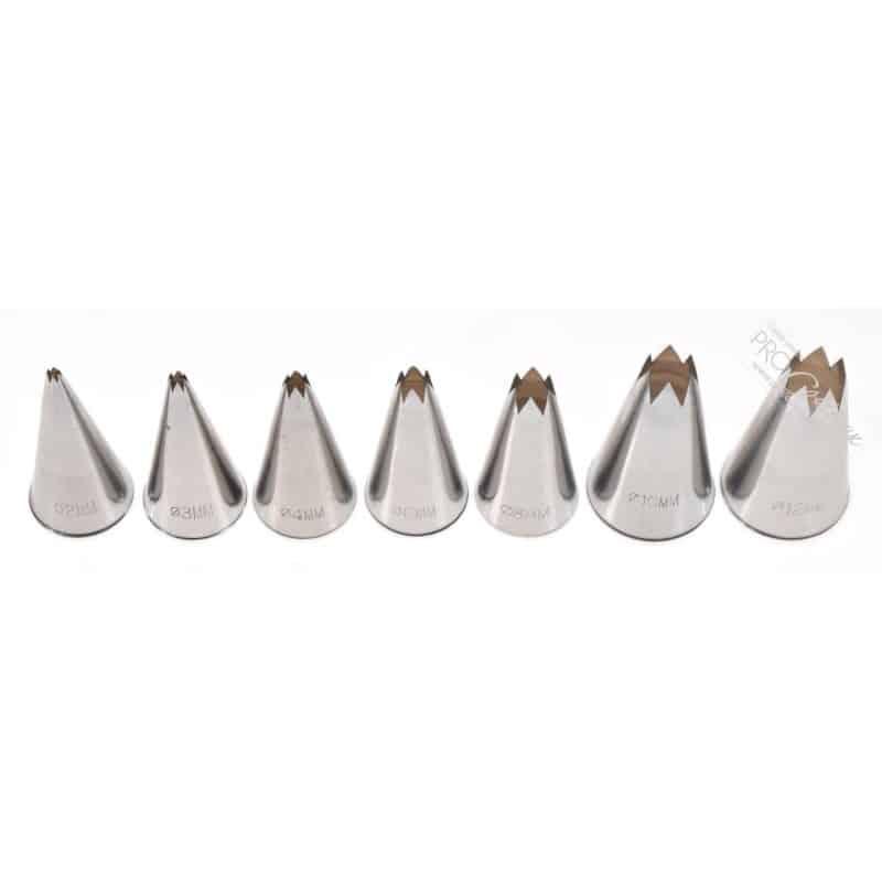 Douilles Inox Cannelée - de 2 à 12 mm - 7 tailles disponibles ProCouteaux