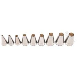 Douilles Inox Unie - de 4 à 18 mm - 9 tailles disponibles