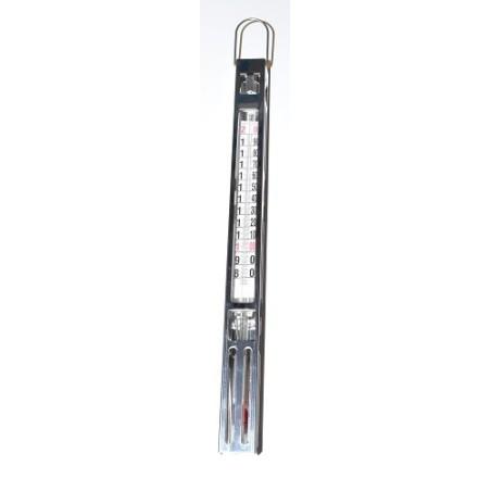 Thermomètre à sucre / confiseur gaine inox +80/+200°C - procouteaux