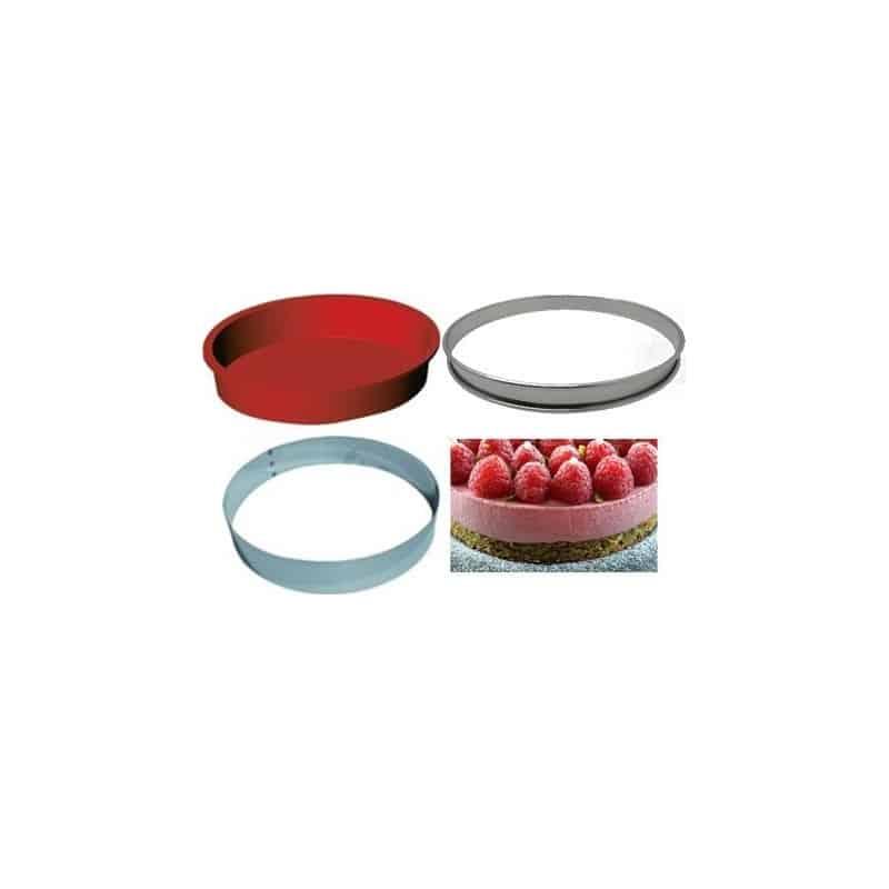 Kit complémentaire pâtisserie - cercles 3 pièces ProCouteaux