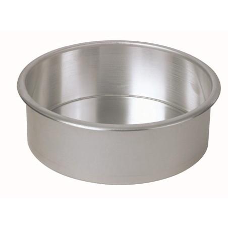 Moule cylindrique en aluminium diamètre 16 cm ProCouteaux