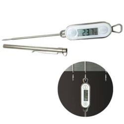 Thermomètre tactile tout inox - 50°c+300°c - procouteaux