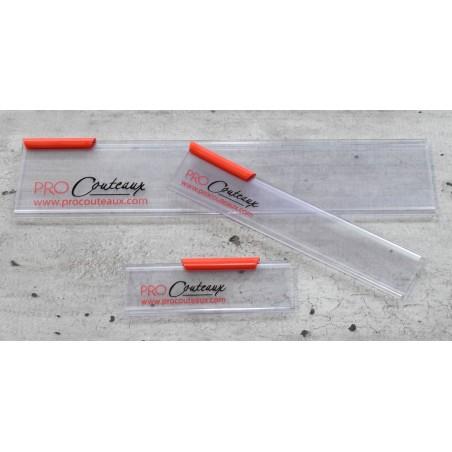 Protection de lame ProCouteaux -  Coupé droite côté manche - 7 tailles ProCouteaux