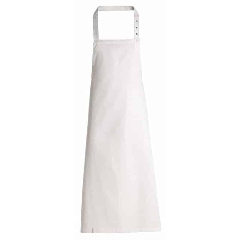 Tablier de cuisine avec bavette - Kentaur - BLANC - procouteaux
