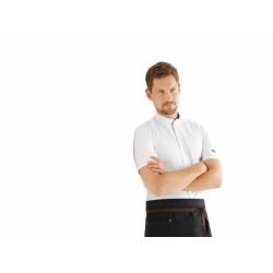 Veste de cuisine KENTAUR - Marco - Manches courtes - procouteaux