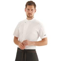 Veste de cuisine KENTAUR - Kevin - Manches courtes - procouteaux