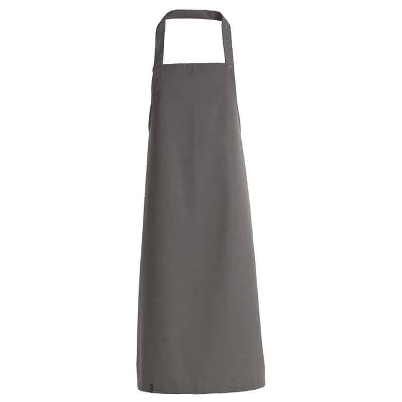 Tablier de cuisine avec bavette - Kentaur - GRIS - ProCouteaux