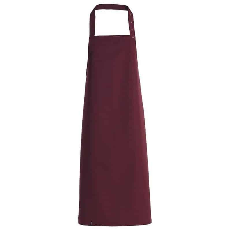 Tablier de cuisine avec bavette -Kentaur - BORDEAUX - ProCouteaux