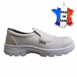 Chaussures de sécurité - mocassins - Cuisine - Made In France - BLANC