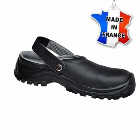 Chaussures de sécurité - Sabots - Cuisine - Made In France - NOIR
