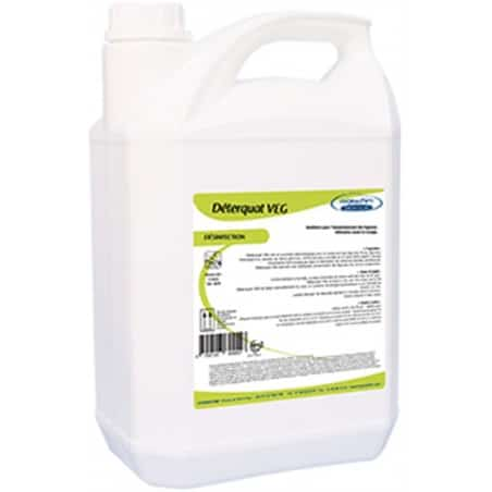DETERQUAT VEG - DECONTAMINATION LEGUMES - 5L