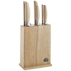 Bloc de couteaux - 7 pièces - Ballarini Tevere - ProCouteaux
