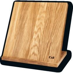 Bloc magnétique en chêne - 4 à 6 couteaux - KAI - procouteaux