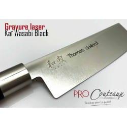 Gravure laser couteaux japonais sur ProCouteaux.com