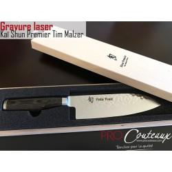 Couteaux japonais gravés au Laser