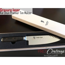Couteau tim Malzer gravé au LASER