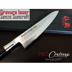 couteaux japonais gravés