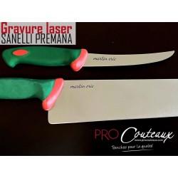 Couteaux sanelli gravés