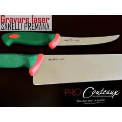 Couteaux gravés SANELLI au LASER