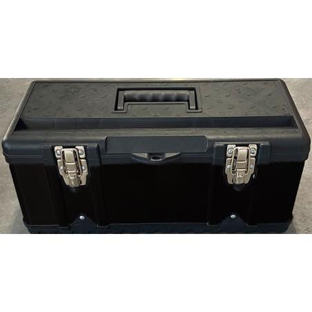 Mallette Box L - noir métal & plastique (pour couteaux et ustensiles)