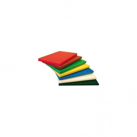 Planche à découper avec rigole - GN1/1 x 2cm - polyéthylène