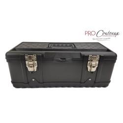 Mallette Box M - noir métal & plastique (pour couteaux et ustensiles)