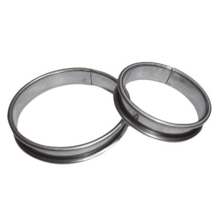 Cercle à tarte inox - Ø 22 cm - procouteaux