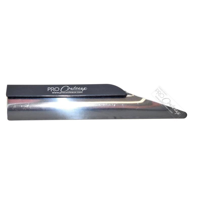 Ramasse Miettes Inox & PVC noir - 14cm - ProCouteaux