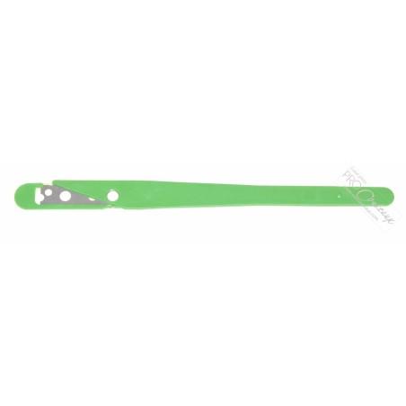 Scarificateur / lame de boulanger / Grignette - vert - Procouteaux