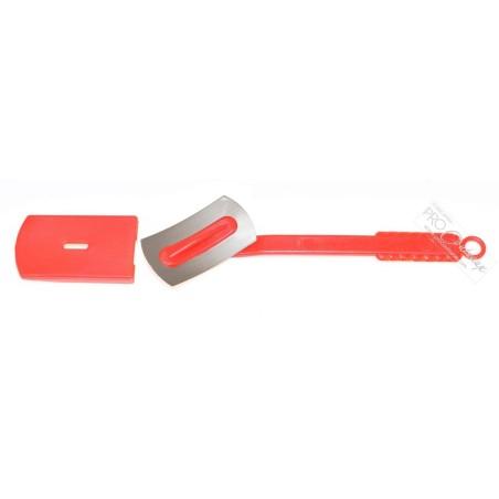 Scarificateur / lame de boulanger / Grignette pivotante - rouge - procouteaux