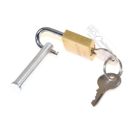 Fermeture cadenas + clé (kit) pour mallette Modulex - procouteaux
