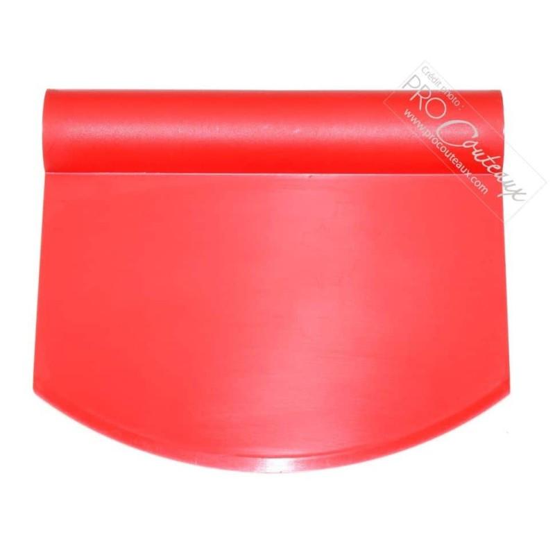 Coupe pâte rigide arrondi tout plastique rouge procouteaux