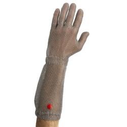 Gant boucherie WILCO - tout inox Avec manchette - 15 cm ProCouteaux