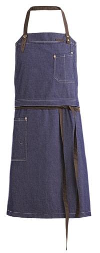 Tablier de cuisine bleu jeans