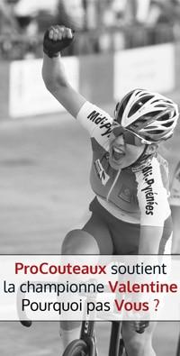 Valentine Fortin championne cycliste