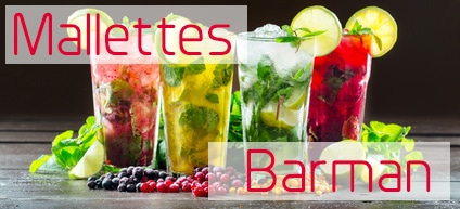 Mallettes barman