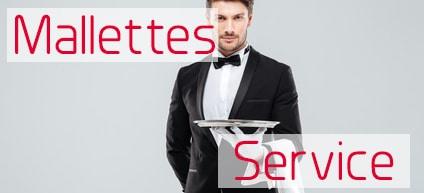 Mallettes service