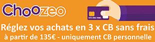 Choozeo - reglez en 3 x sans frais sur ProCouteaux.com
