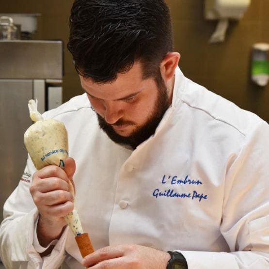 Broderie veste de cuisine Kentaur - Guillaume Pape Candidat TopChef