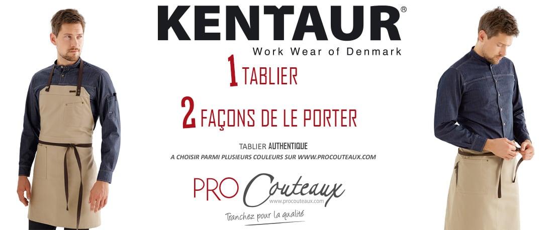 Vente de vêtements de cuisine KENTAUR chez Procouteaux.com