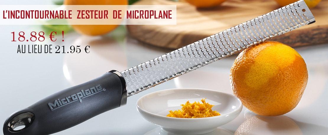 zesteur rapeur microplane
