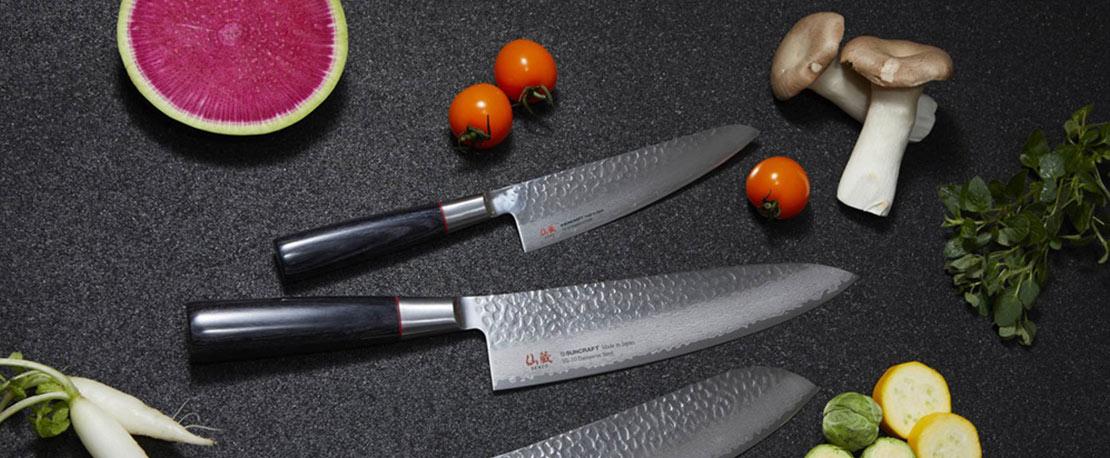 Couteaux japonais Senzo Suncraft en vente chez procouteaux.com