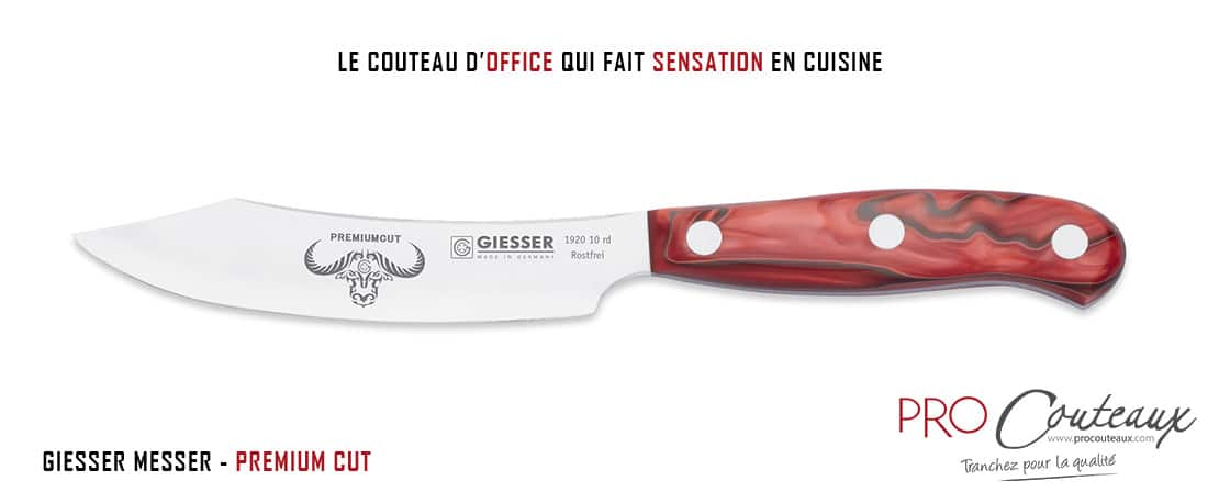 Couteau d'office Premium Cut